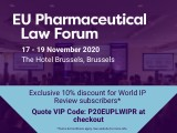 EU Pharmaceutical Law Forum - 17-19 November 2020